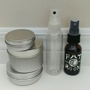 4/$15 - apothecary container bundle
